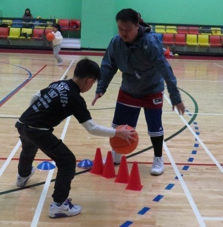 籃球姜展明
